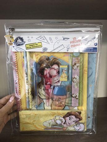 Набір набор канцелярія блокнот  Belle від Дісней Disneystore