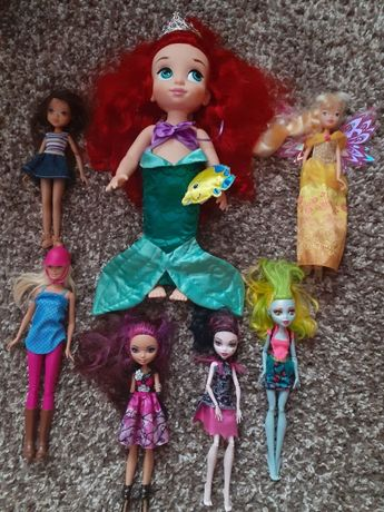 "цена за оригинальные куклы от Disney + куклы ""монстер хай"""