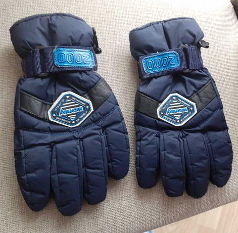 Męskie rękawiczki narciarskie