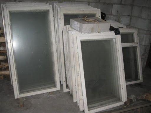 Oddam za darmo Okna starego typu drewniane z szybami