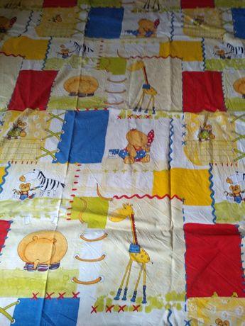 Zasłonka bawełna pościelowa  133 cm x 142 cm