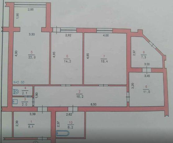 Велика квартира або для житла або під комерцію. vip