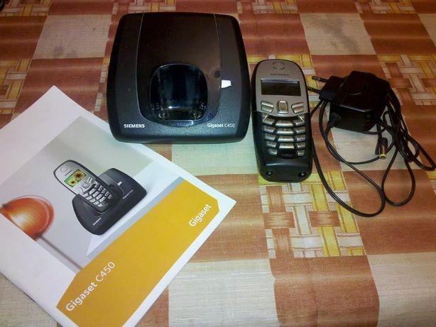 Telefon bezprzewodowy firmy Siemens Gigaset C450