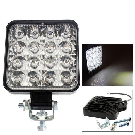 Светодиодная балка-фара LED, Балка, Прожектор, лед фара на лодку