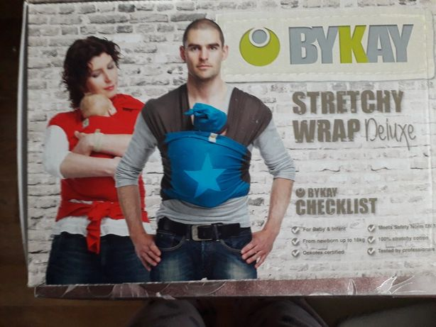 Слинг BYKAY STRETCHY WRAP Deluxe от 0-18кг