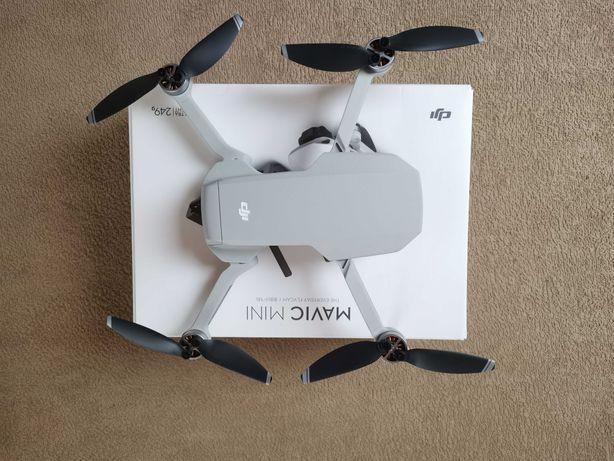 Dron DJI Mavic mini, jak nowy, kupiony w listopadzie 2020r.
