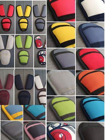 Мягкие накладки на ремни безопасности велосипеда стульчика запчасти