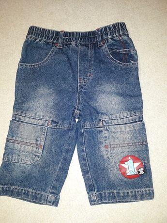Spodenki jeansowe r. 68