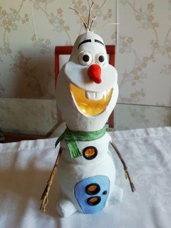 Olaf - candeeiro decorativo