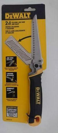 Ножовка по гипсокартону 2 в 1 DEWALT DWHT20123 Bosch Makita