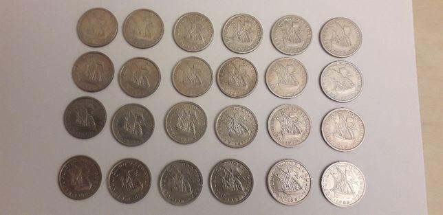 coleção completa 2,5 escudo 1963 a 1985