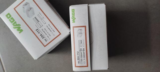Szybkozłączka oświetleniowa Wago 224-112 Złączka instalacyjna