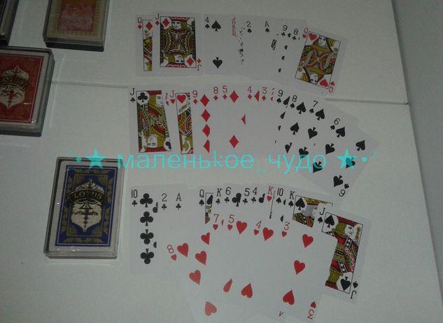 Игральные ПЛАСТИКОВЫЕ Карты Lotus 54 шт 1 КОЛОДА 50грн НЕ КАРТОН