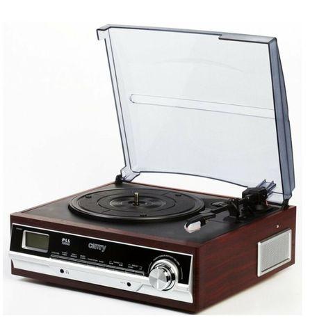 Програвач вінілових дисків (грамофон) Camry CR 1113 Brązowy