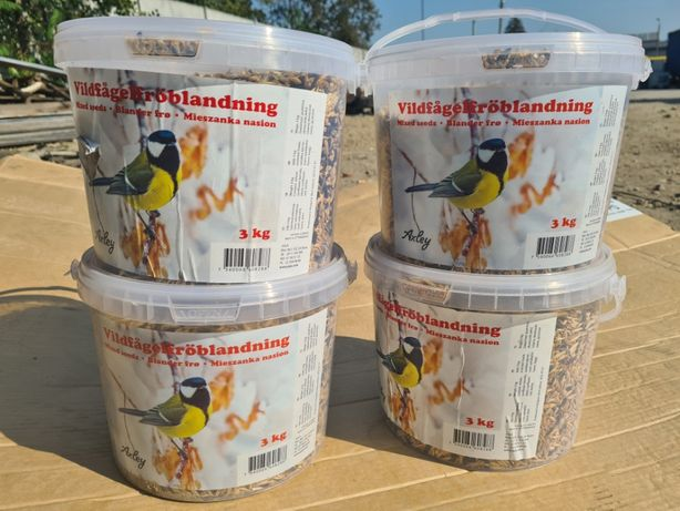 Karma dla ptaków, mieszanka nasion 3kg