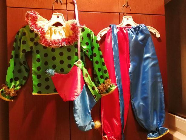 карнавальный костюм Петрушка или Арлекин