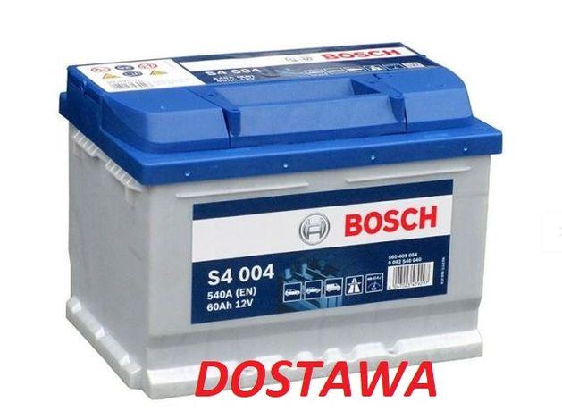 Akumulator Bosch 60Ah 540A 0 092 s40 050 dostawa i montaż gratis 3city