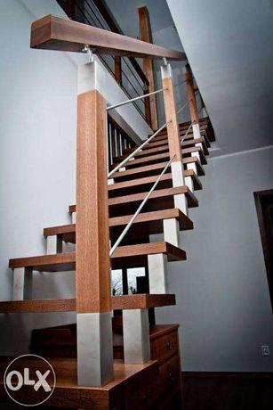 schody drewniane (cała polska)