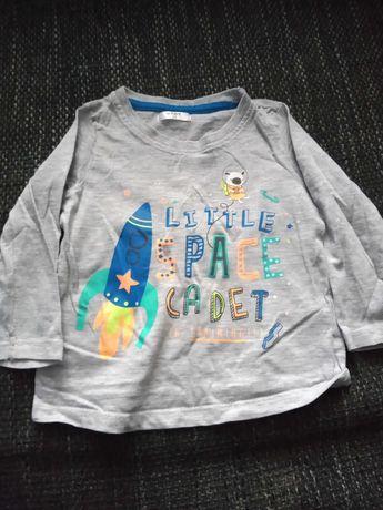 Bluzka/t-shirt chłopięcy 74