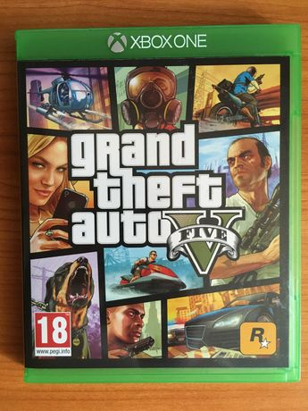 GTA V - Grand Theft Auto V - Xbox One