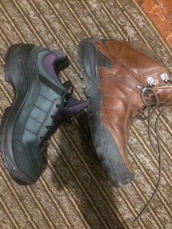 Reebok,Lowa,Tewa унисекс 39,5 -40 gor-Tex кроссовки,ботинки