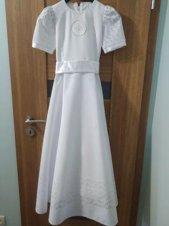 Alba/ sukienka komunijna + wszystkie dodatki