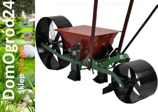 SIEWNIK ręczny NOWY Ogrodowy POLSKI do Kwiatów warzyw taczkowy