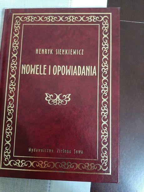 Henryk Sienkiewicz Nowele i opowiadania