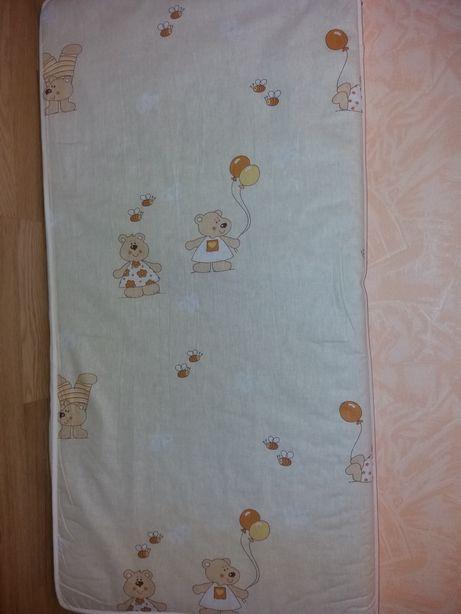 Детский матрас в кроватку 120 х 60 см 5 слоев кокоса 7см