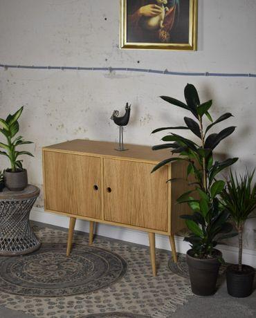 Komoda lata 60, PRL, skandynawski design retro, NOWA