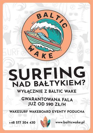 Surfing, Poducha, Rejsy Motorówką, WakeBoard, Narty Wodne,