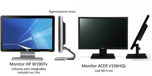 Monitores + Portáteis + Sistema de Som +PC