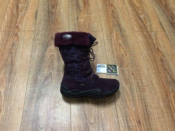 Сапожки сапоги зимние черевики на девочку Primigi GoreTex р.37(24см