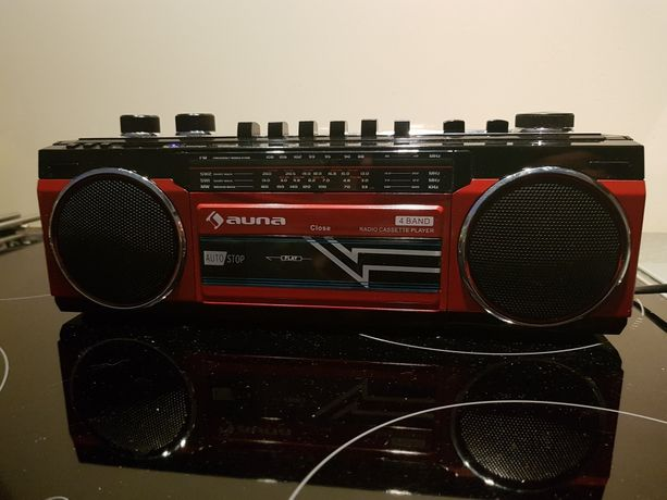 Radio retro style Bluetooth usb sd kaseta