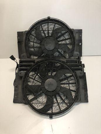 Вентилятор кондиционера БМВ е53 дифузор BMW X5 E53