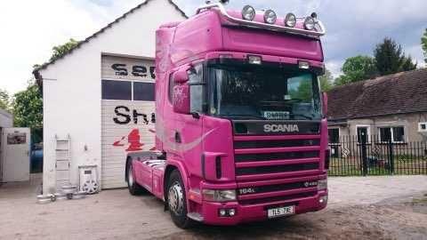 Sprzedam ciągnik siodłowy Scania R164 LA z naczepa Kogel