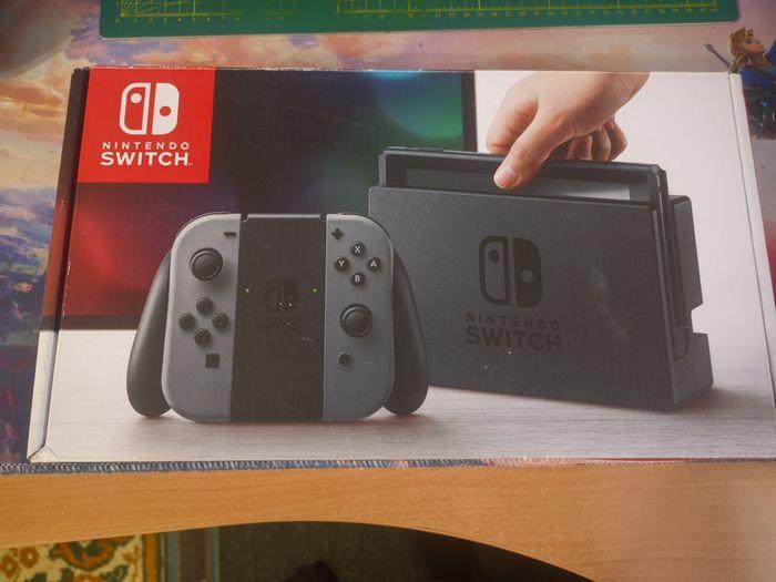 Nintendo Switch 128 gb, б\у, с играми Алексеево-Дружковка - изображение 1