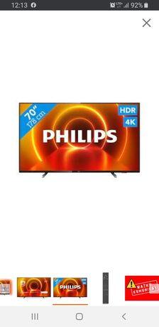 "Telewizor Philips 70PUS7805 ambilight WIELKI 70"" NOWY"