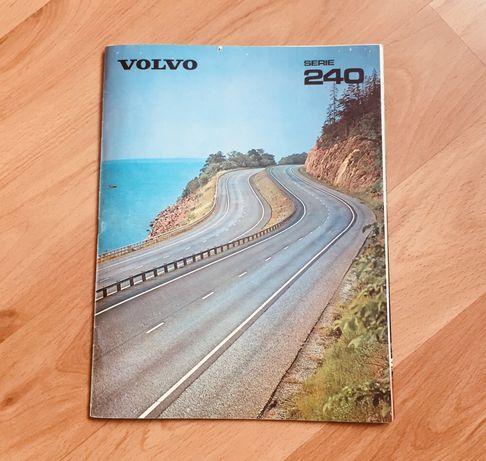 Prospekt Volvo serie 240