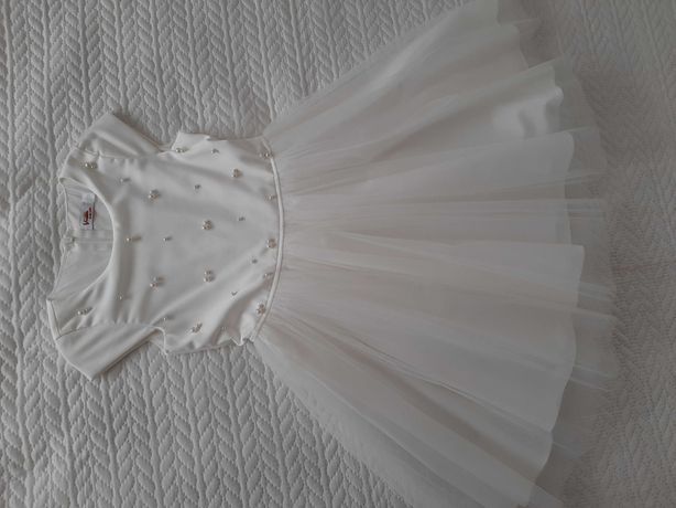 Sukienka komunia 128r.