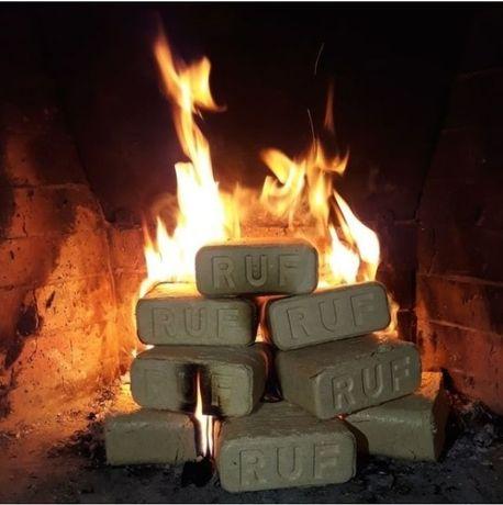 Брикеты RUF топливные для котлов, печей, каминов, Казачьи Лагеря
