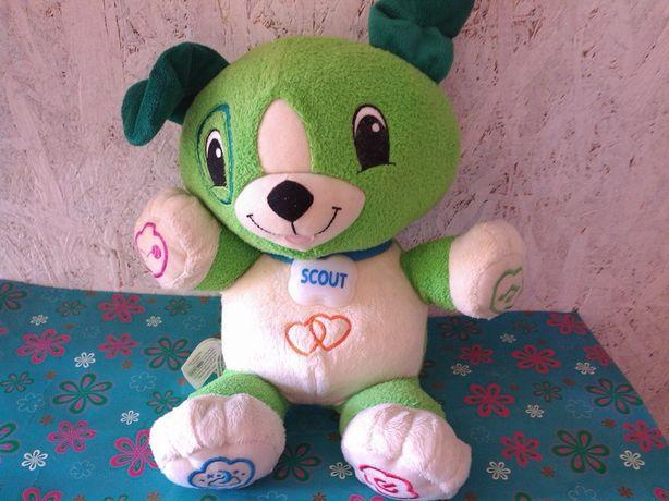 piesek SCOUT my pal scout Leap Frog interaktywny gra mówi śpiewa