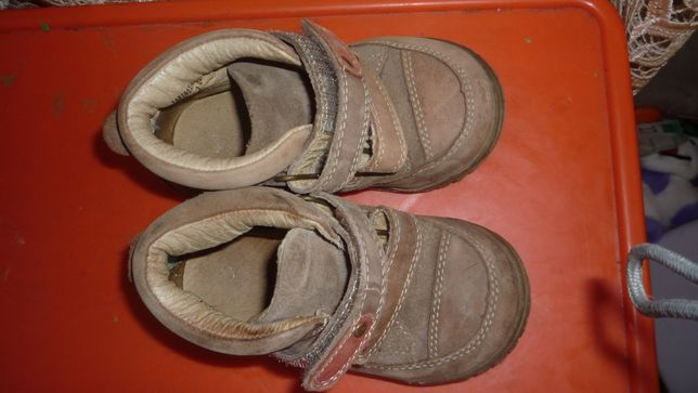 Демисезонные ботинки для мальчика 22р.