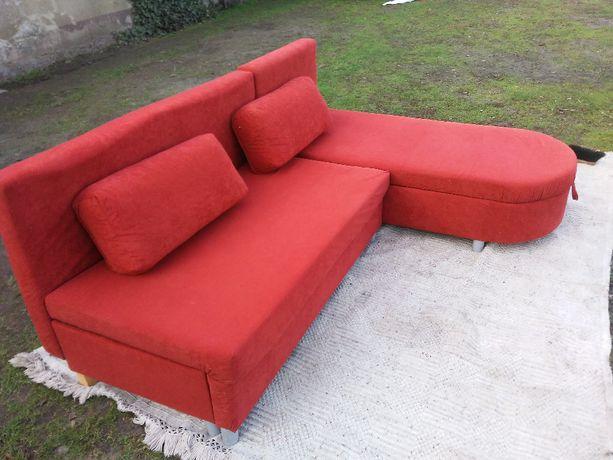 narożnik kanapa sofa z funkcją spania