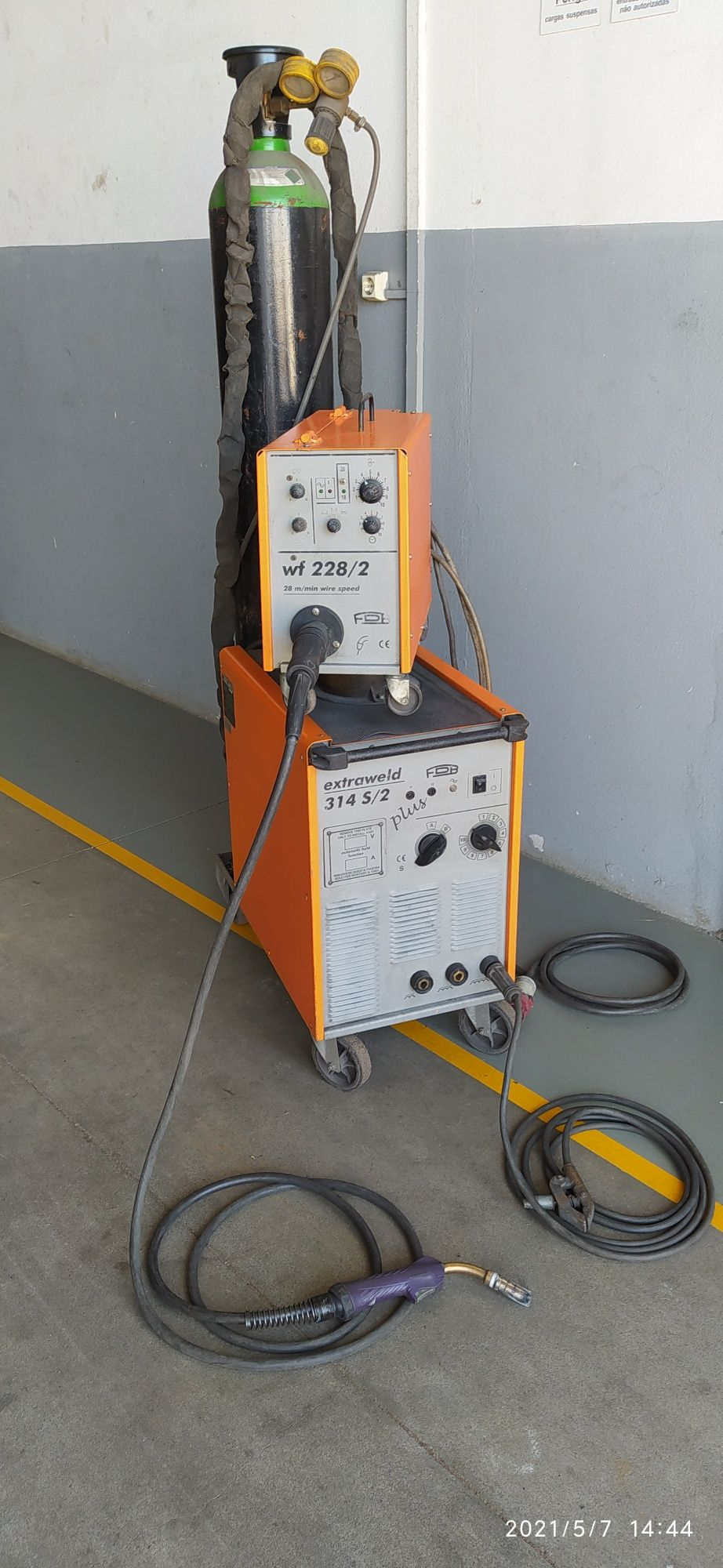 Maquina Soldar MIG FDB 314 S/2 Plus