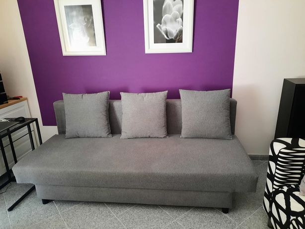 Sofá-cama de 3 lugares ASARUM ikea