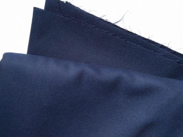 Отрез ткань шерсть темно синяя габардин ВВС Армии СССР