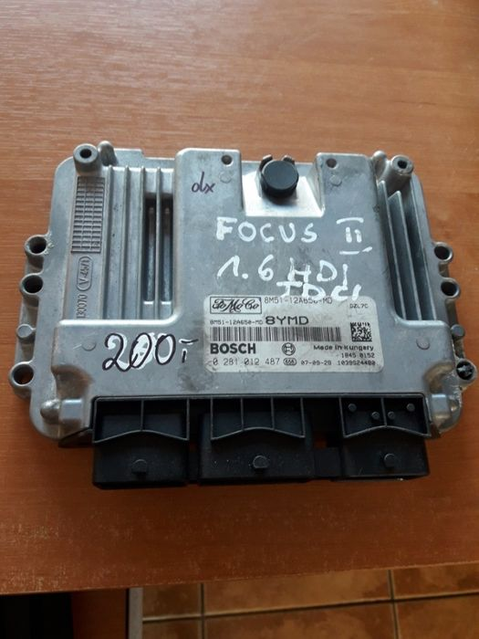 Sterownik komputer silnika Ford focus c-max 1.6 TDCI Świba - image 1