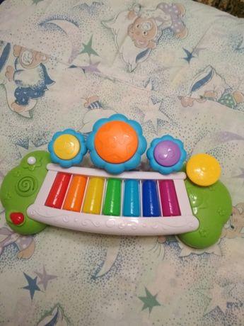 Музыкальная новая игрушка пианино