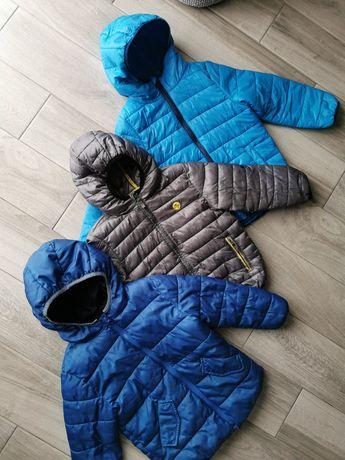 3szt kurtki pikowane jesień wiosna kurtka Reserved cool Club mango